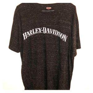 Harley Davidson logo tee shirt l xl 🏍 Los Cabo's